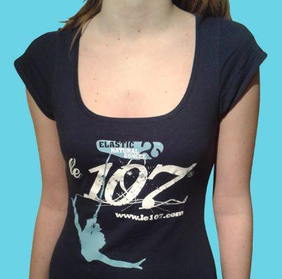 shop tshirt girl elastic cadeau