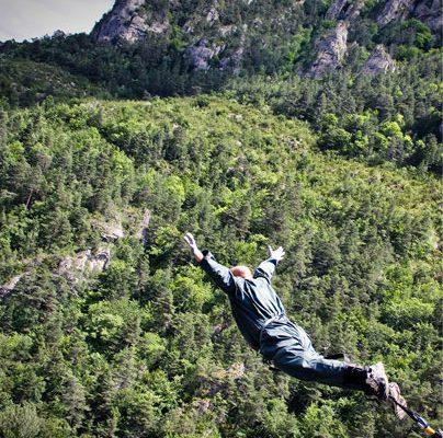 saut elastique prix 107 metre lozere millau