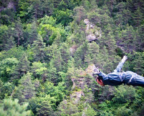saut elastique extreme adrenaline tarn